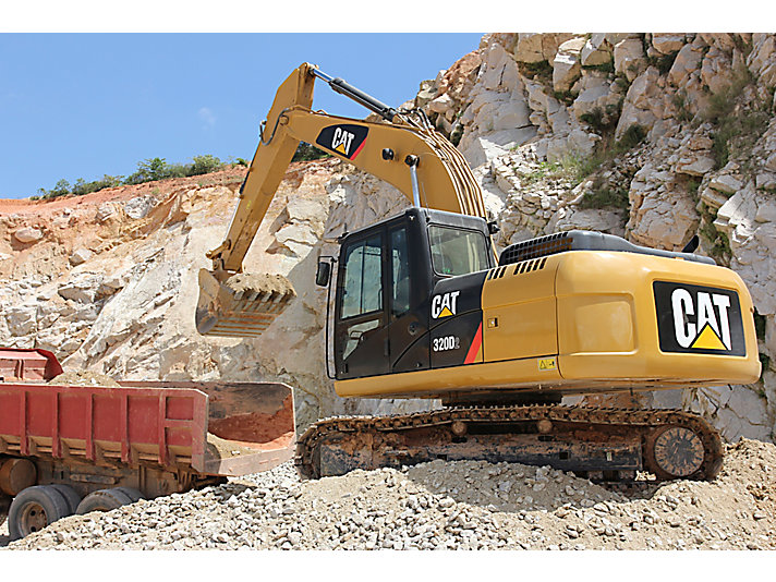 320D2/D2L Medium Excavator
