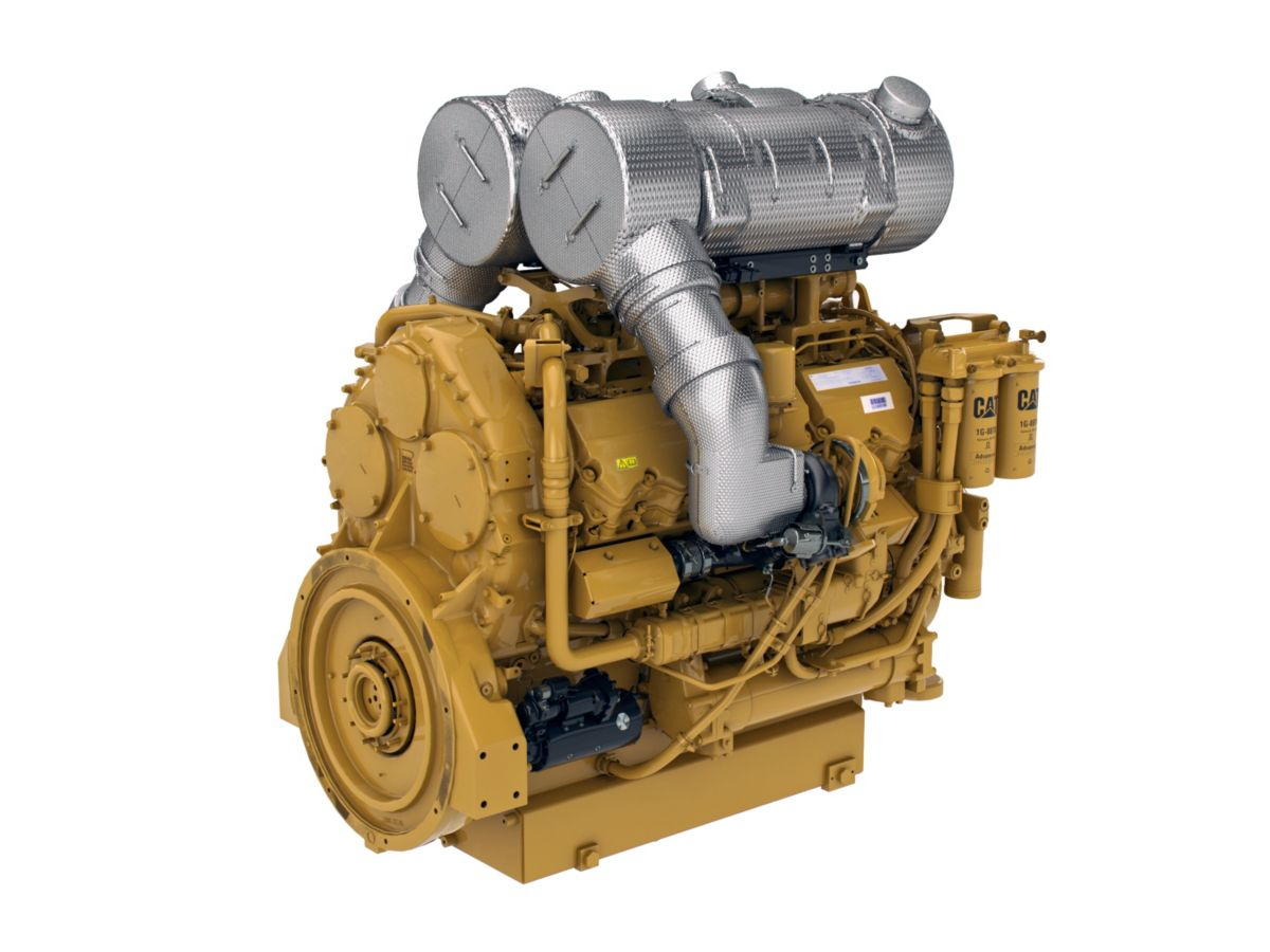 Cat C32 ACERT Engine