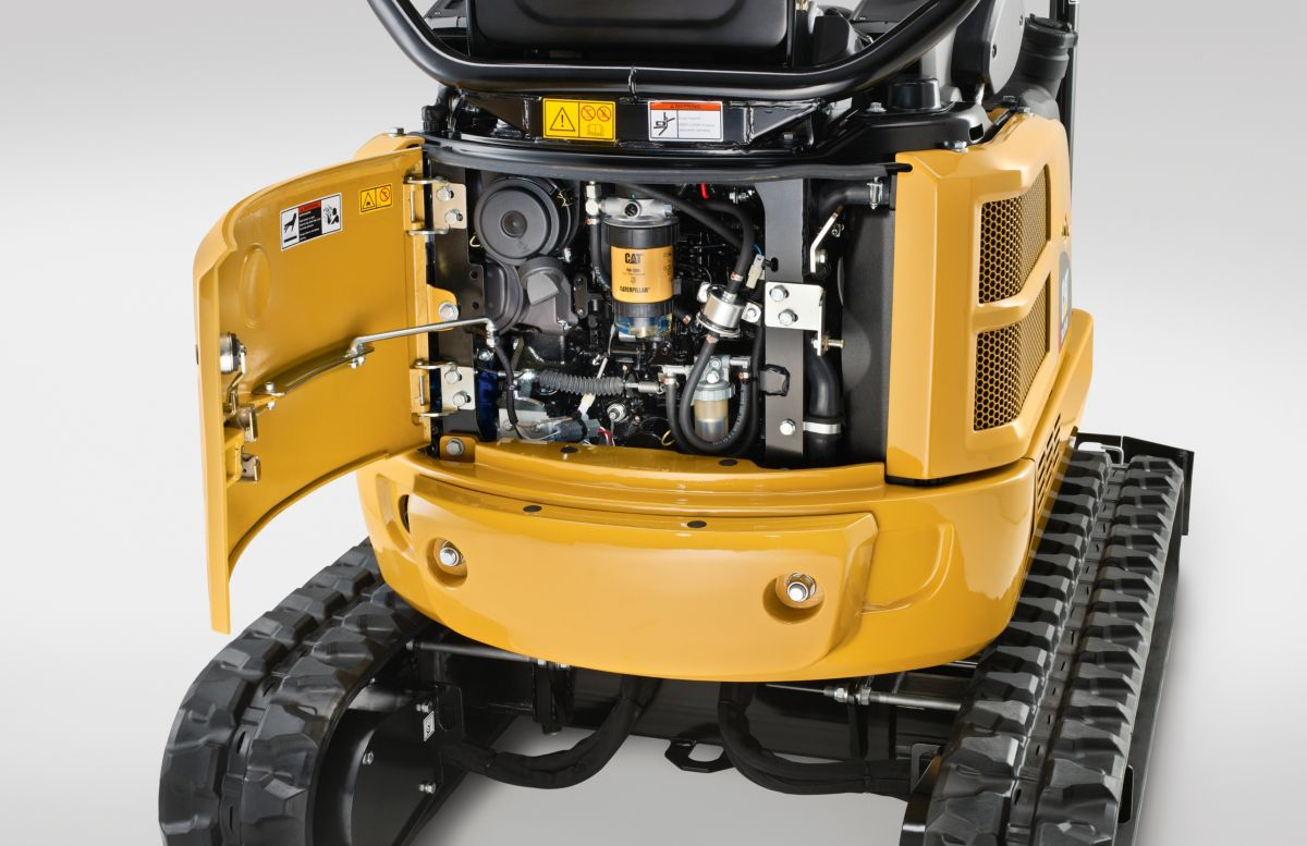 Powerful Engine and Load Sensing Hydraulics