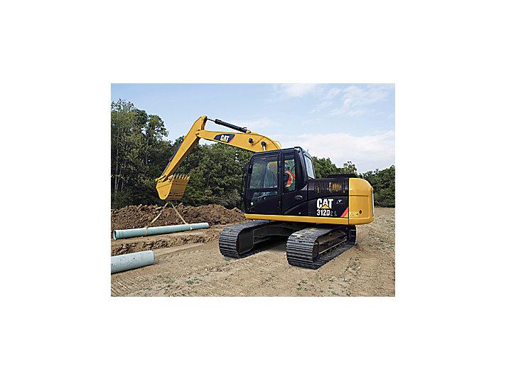 312D/D2 L Small Excavator