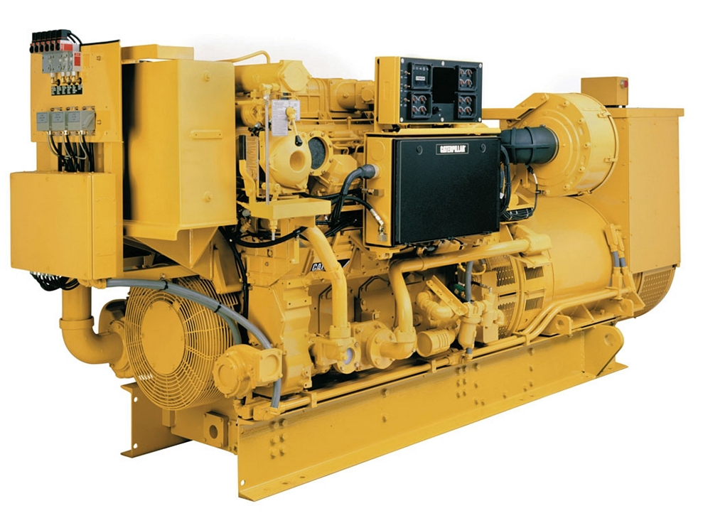 New cat 3512b marine auxiliary generator set engine for for Generator motor for sale