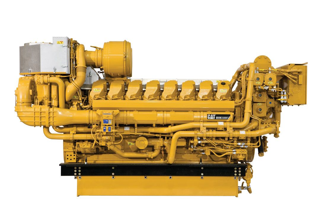 New CaterpillarMarine-Power-Systems