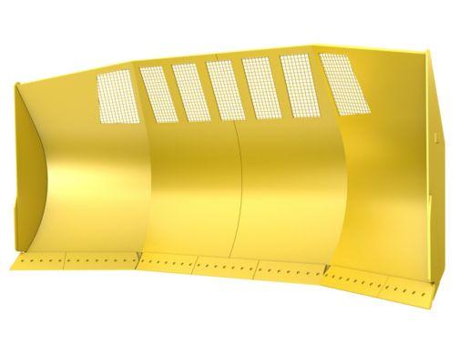 45.9 m³ (60.0 yd³) - Woodchip U-Blades