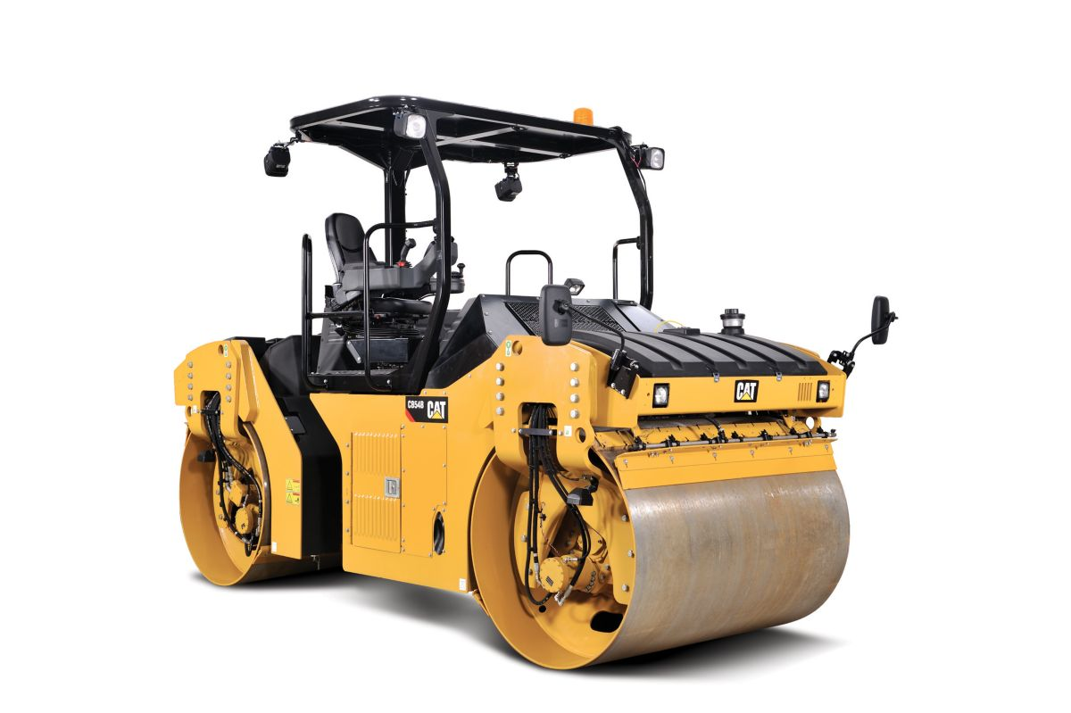 CB54B - Solid Drum Tandem Vibratory Roller