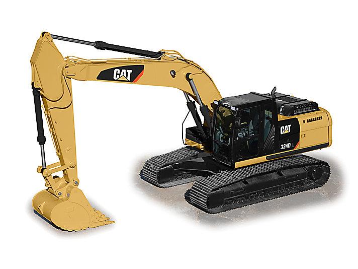 324D L Medium Hydraulic Excavator