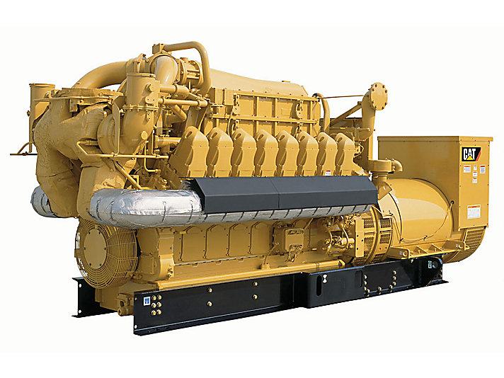 Zasilane gazem zespoły prądotwórcze G3516C