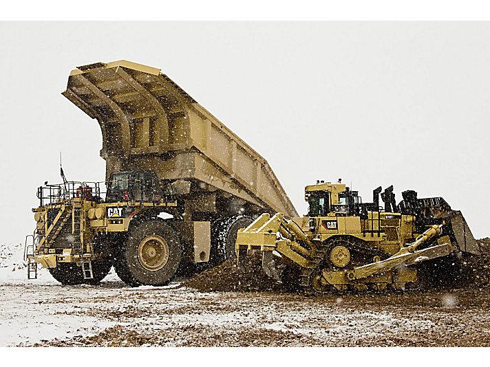 Tractor Topador D10T2 grande