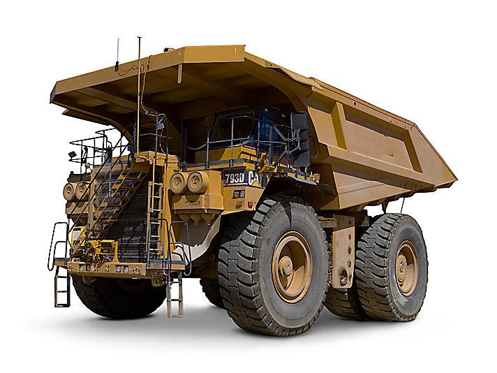 Tombereaux pour applications minières793D