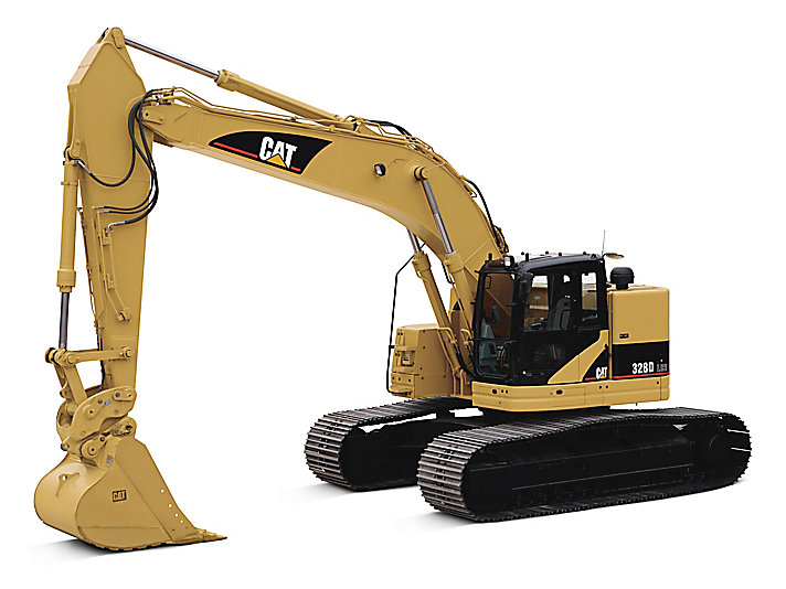 328D LCR Medium Hydraulic Excavator