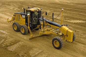 Cat AccuGrade™ for Motor Graders