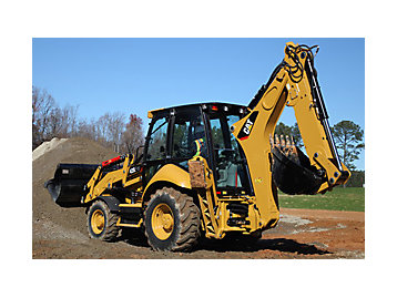 F series backhoe loader