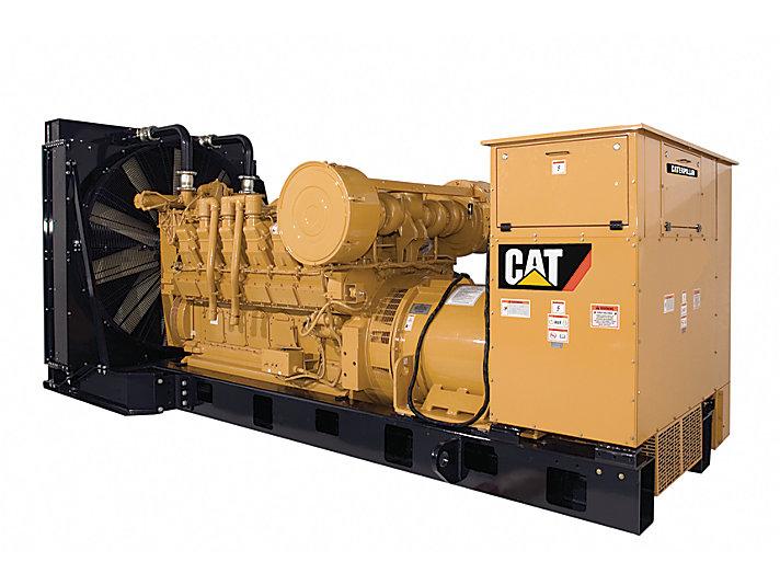 Дизельные генераторные установки 3512A