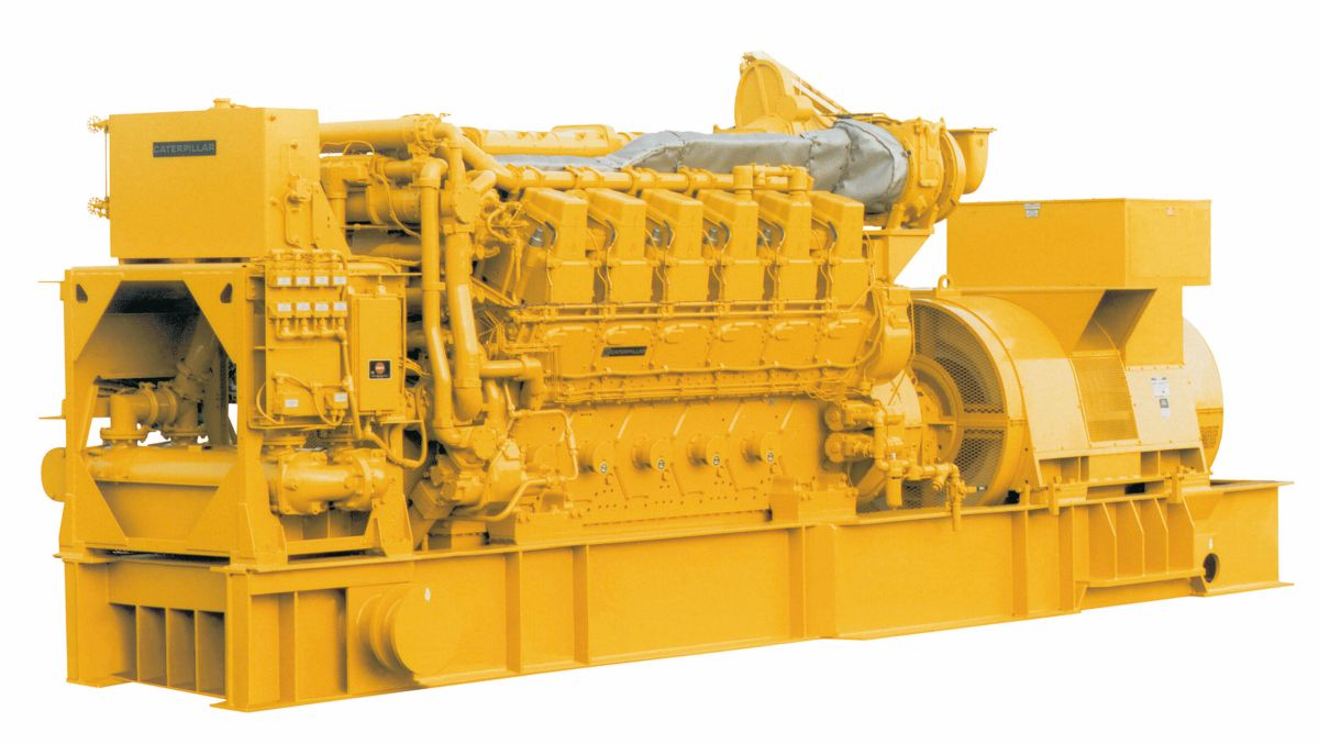 3616 Generator Set (Medium Speed)