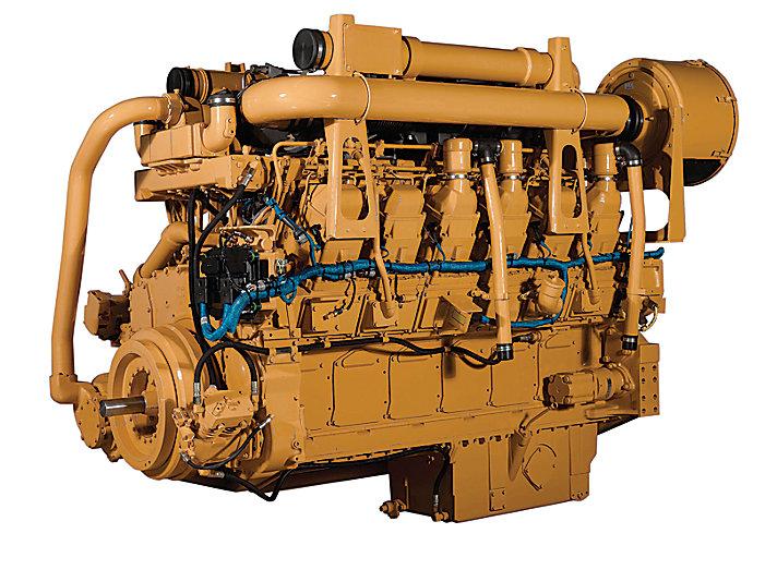 3512C HD乾式マニホールドとATAAC石油産業エンジン、坑井管理用エンジン