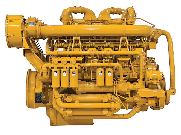 3512C HD SCAC Land Well Service Engine