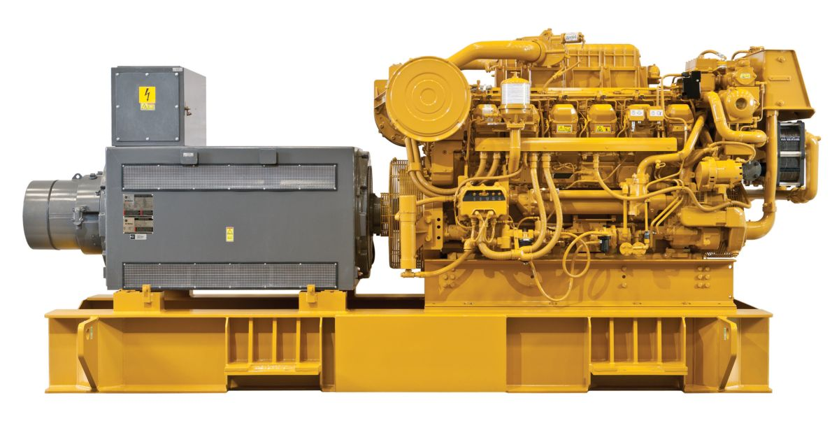 3512C (HD) Offshore Generator Set