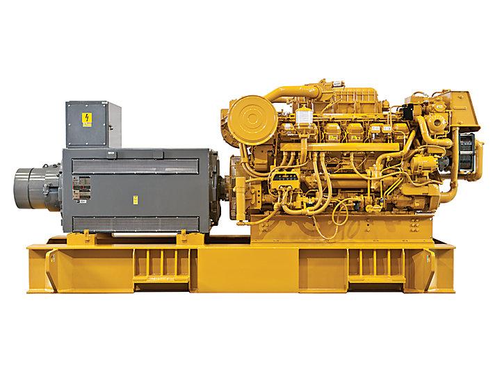 3512C(HD)海上発電装置