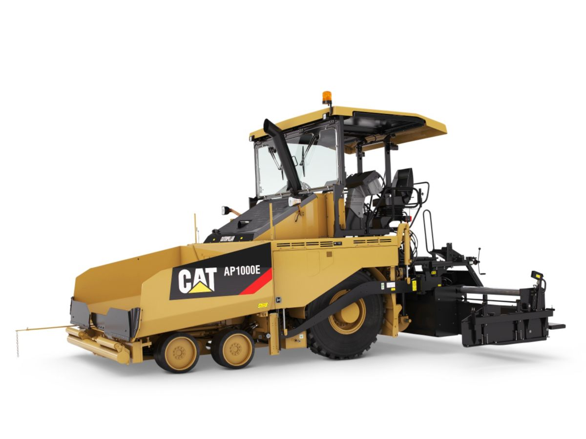 New CaterpillarAsphalt-Pavers