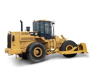814F Seri 2 - Medium Wheel Dozers