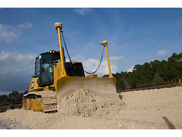 Dozer Operating Techniques for Aggregate Placement