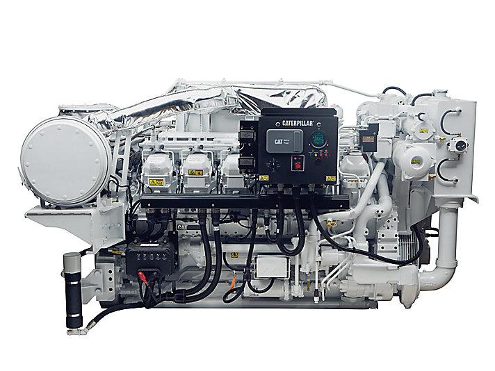 محرك الخدمة الشاقة 3512C HD على الأداء