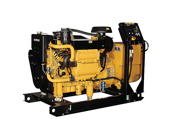 Zespoły prądotwórcze dla przemysłu morskiego