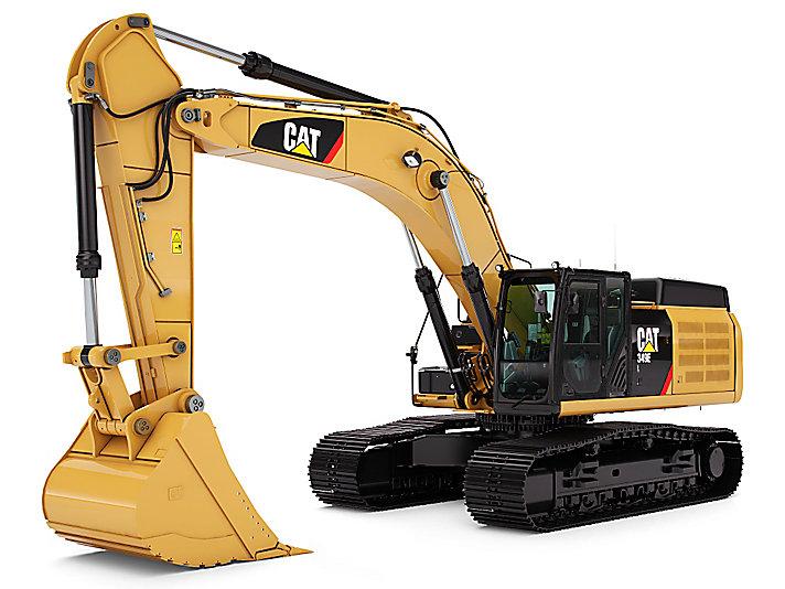 349E L Hydraulic Excavator