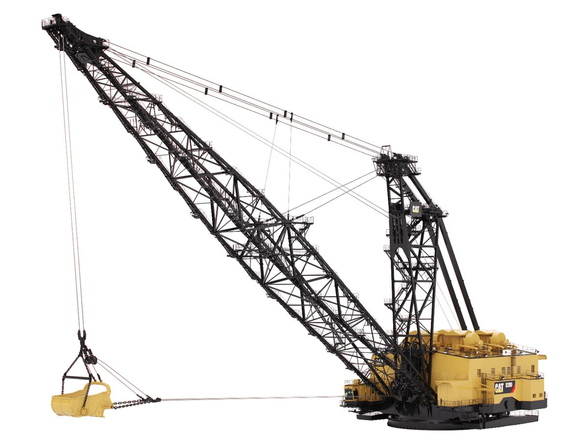 New CaterpillarDraglines