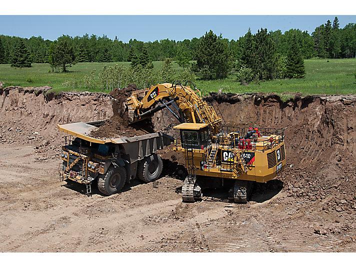 6040/6040 FS hydraulische mijnbouwshovels