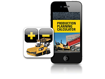 The Paving Production Calculator App