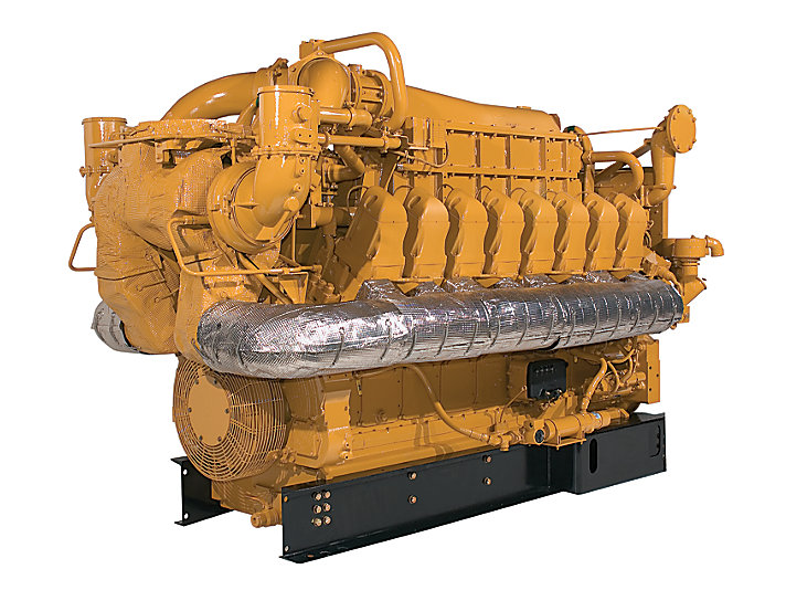 cat g3516 le gas engine caterpillar rh cat com Caterpillar C12 Engine Breakdown Cat C12 Engine Diagram