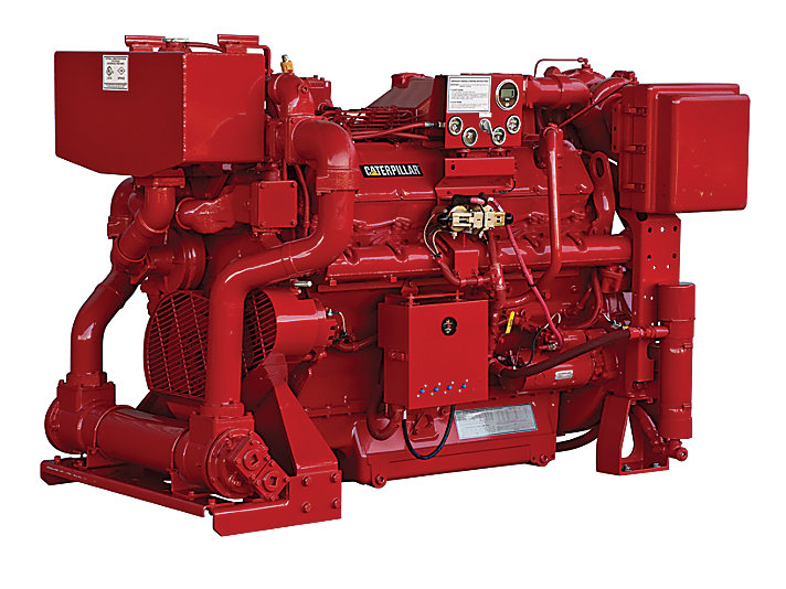 3412 Fire Pump Engine