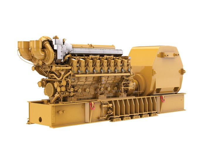 C280-16 Offshore Generator Set - Front Mounted Turbo