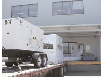 A 30-ton, 10,000 cfm chiller from NC Power