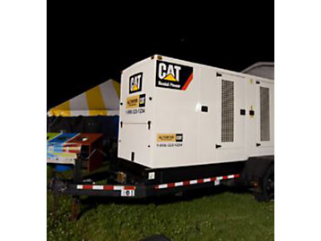 A network of 19 Cat® diesel generator sets