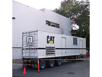 Two Cat® XQ 2000 generator sets powered the wing of a hospital