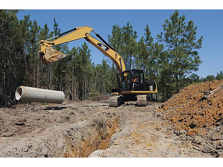 Excavadora Hidráulica Pequeña 318D2 L