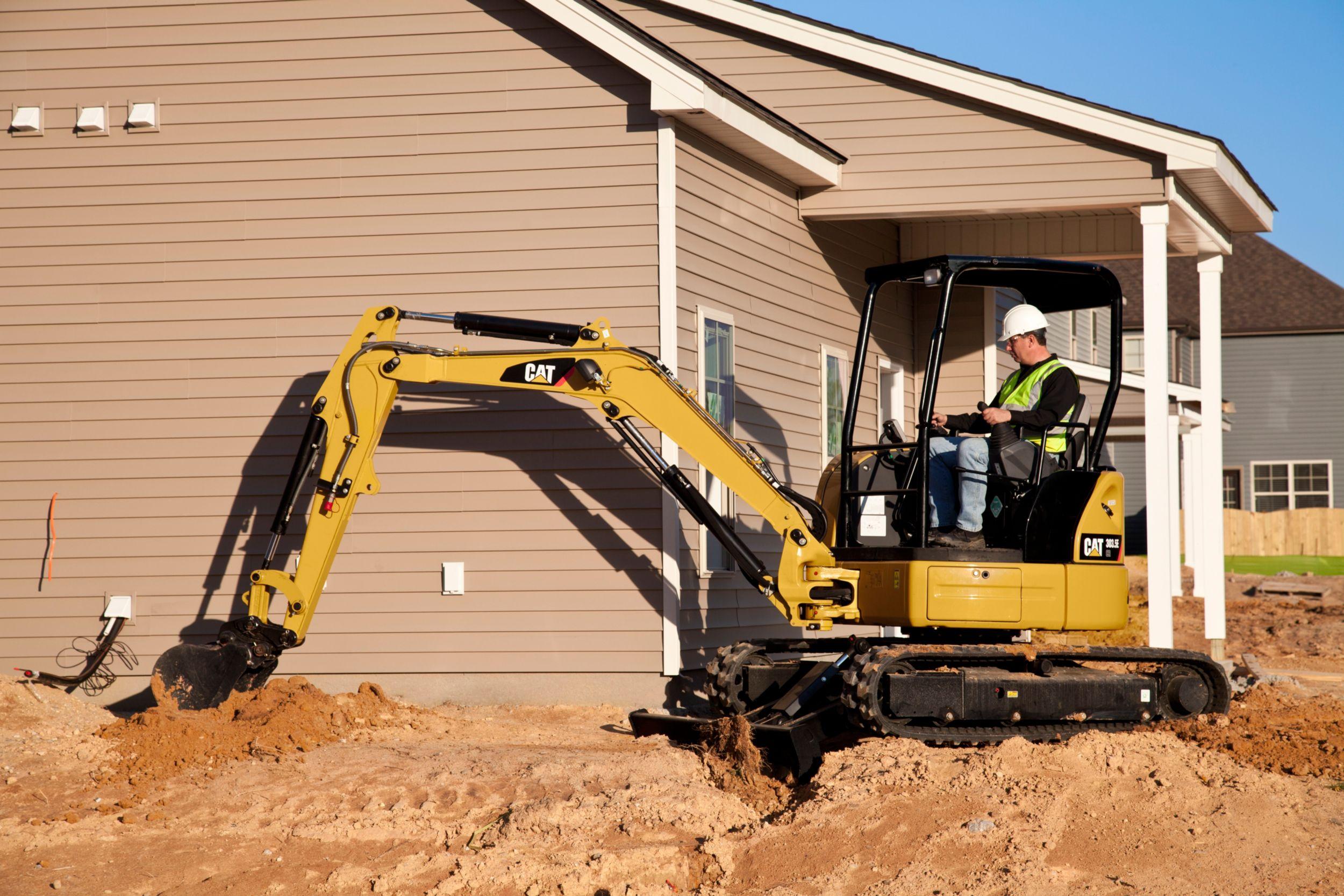 Cat 303.5E CR Mini Excavator