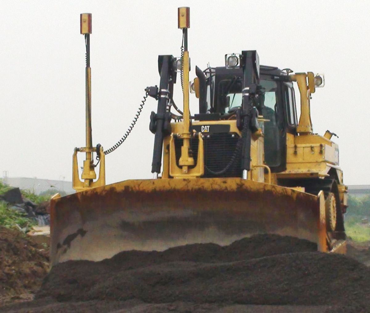 AccuGrade System for Track-Type Tractors
