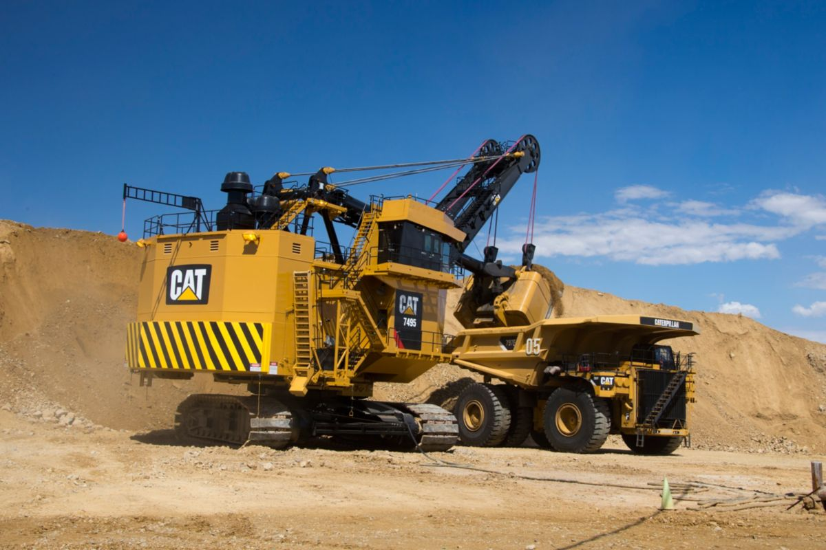For the Cat® 7495 Electric Rope Shovel Series