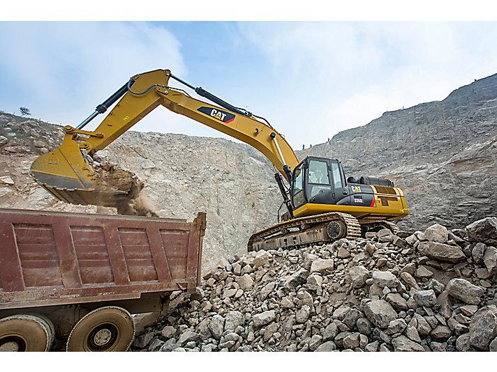 Escavadeira Hidráulica Grande 336D2 L