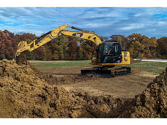 311F L RR Small Hydraulic Excavator