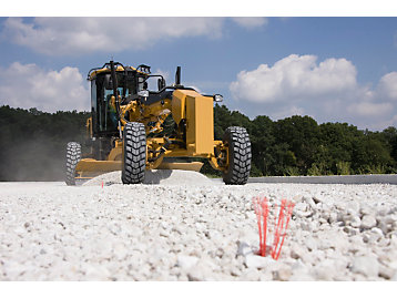 Cat GRADE mit Cross Slope für Motorgrader