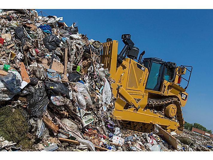 D8T WH avfallshanterare