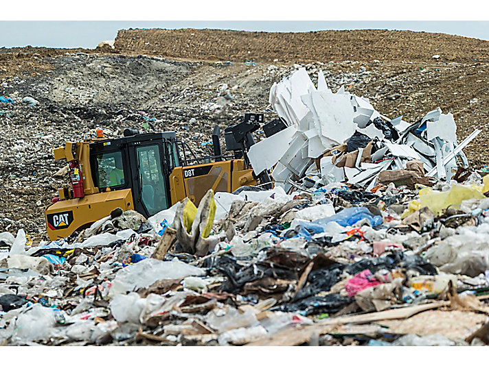 Manipulador de Residuos D8T WH