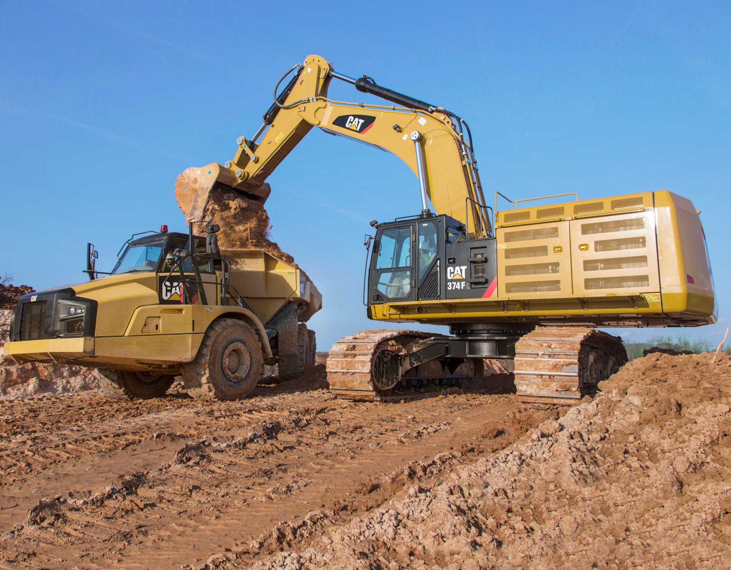 New Caterpillar Large Excavators Mustang Cat Houston Tx