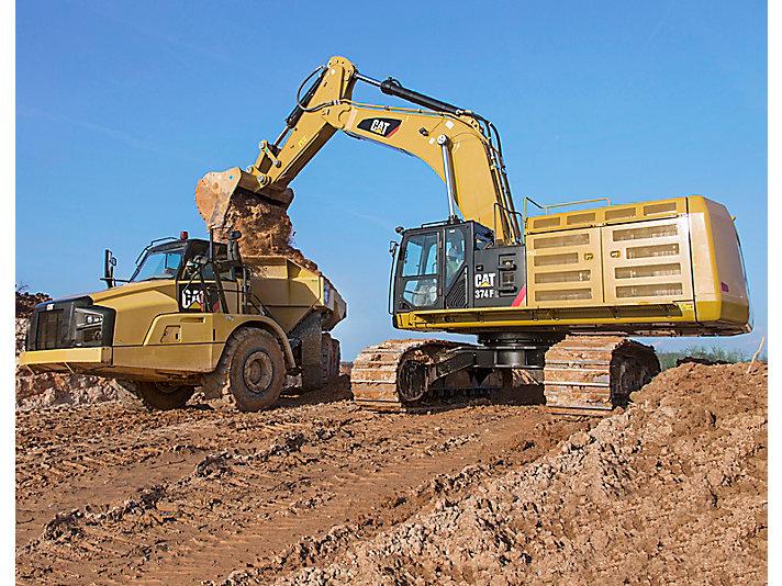 Hydraulic Excavator Besar 374F L