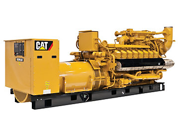 Cat G3516H Generator Set for sustainable power