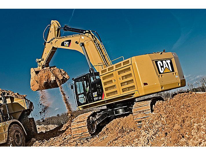 Excavadora Hidráulica Grande 374F L