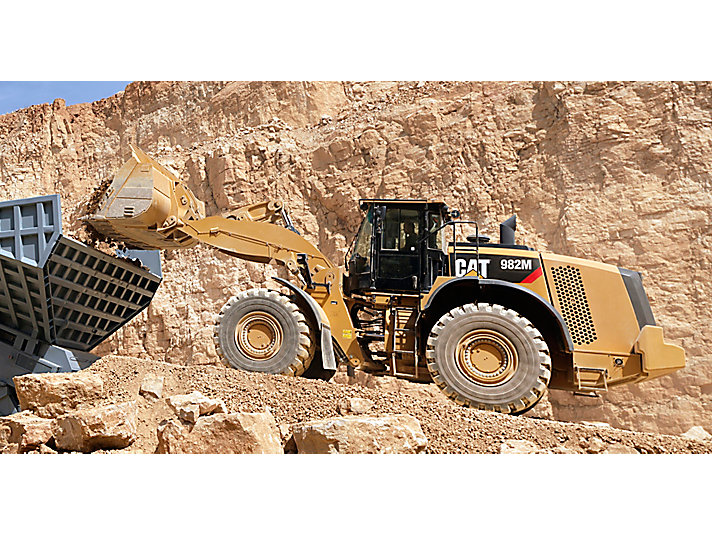 982M Medium Wheel Loader front loader